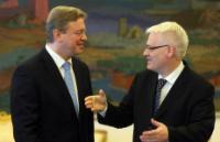 Visite de Štefan Füle, membre de la CE, en Croatie