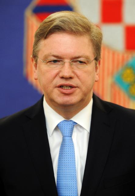 Visit of Štefan Füle, Member of the EC, to Croatia