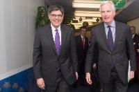 Visit of Jack Lew, US Secretary of the Treasury, to the EC