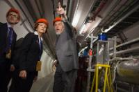 Visit of Androulla Vassiliou, Member of the EC, to the CERN