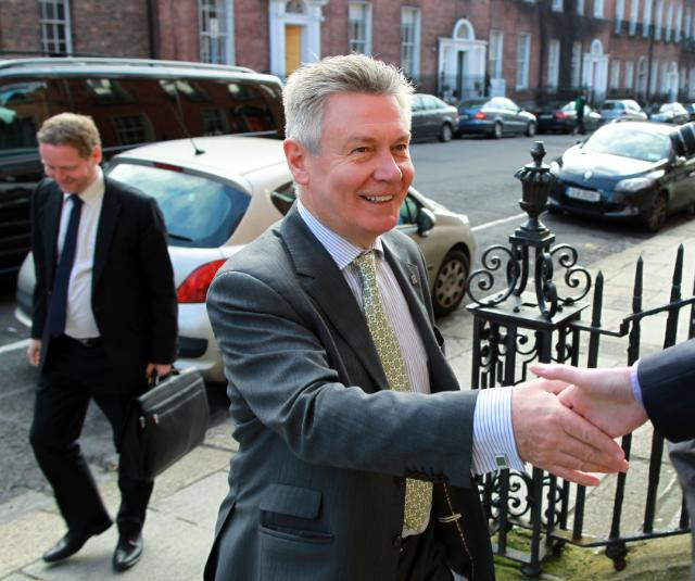 Visit of Karel De Gucht, Member of the EC, to Ireland