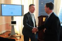 Visite de Karel De Gucht, membre de la CE, en Irlande