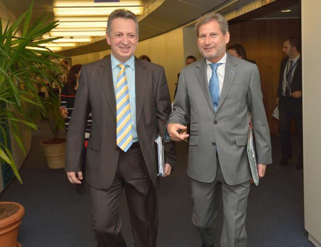 Visit of Relu Fenechiu, Romanian Minister for Transport, to the EC