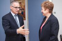 Visite de Goran Svilanović, secrétaire général du CCR, à la CE