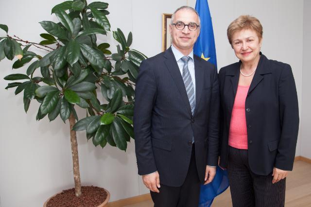 Visit of Goran Svilanović, Secretary General of the RCC, to the EC