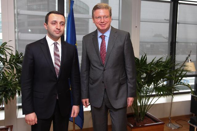 Visit of Irakli Garibashvili, Georgian Minister for Internal Affairs, to the EC