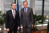 Visit of Irakli Garibashvili, Georgian Minister for Internal Affairs, to the EC