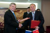 Visit of Tonio Borg, Member of the EC, to China