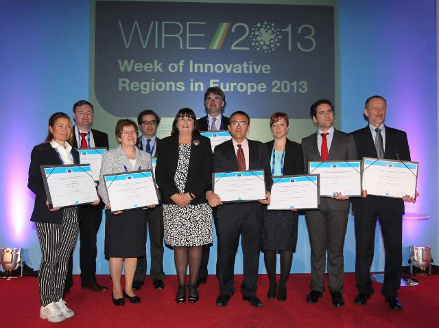 Participation of Máire Geoghegan-Quinn, Member of the EC, at the WIRE IV conference and the 2013 awards ceremony of the European Prize for Innovation in Public Administration
