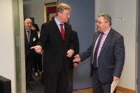 Visit of David Usuphashvili, Chairman of the Georgian Parliament, to the EC