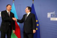 Visite d'Ilham Aliyev, président de l'Azerbaïdjan, à la CE