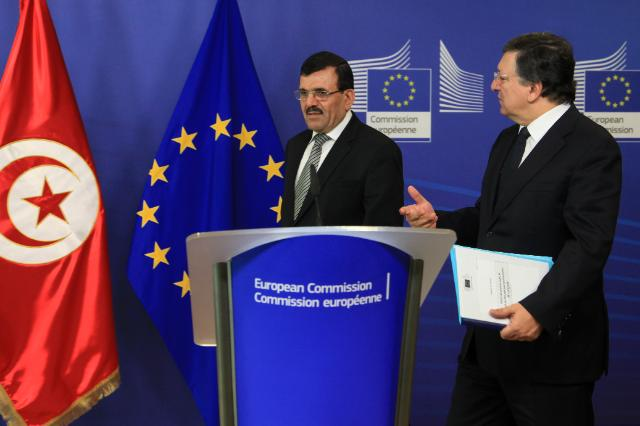Visit of Ali Larayedh, Head of the Tunisian Government, to the EC