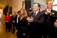 Participation of José Manuel Barroso, President of the EC, in the handover ceremony to welcome Emma Marcegaglia, new President of BusinessEurope