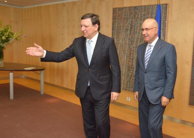 Visit of Josep Antoni Duran i Lleida, Chairman of the