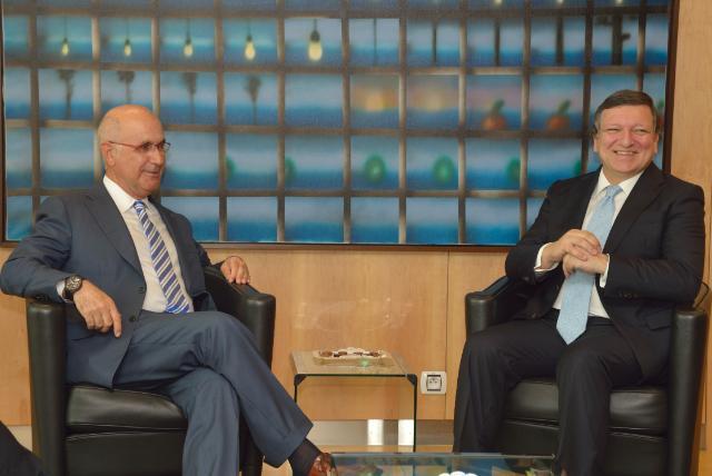 Visite de Josep Antoni Duran i Lleida, président du parti