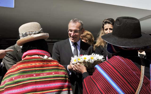 Visit of Andris Piebalgs, Member of the EC, to Bolivia