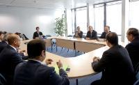 Visite des membres de la MHRA à la CE