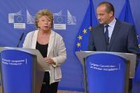 Joint press conference by Orsat Miljenić, Croatian Minister for Justice, and Viviane Reding, Vice-President of the EC