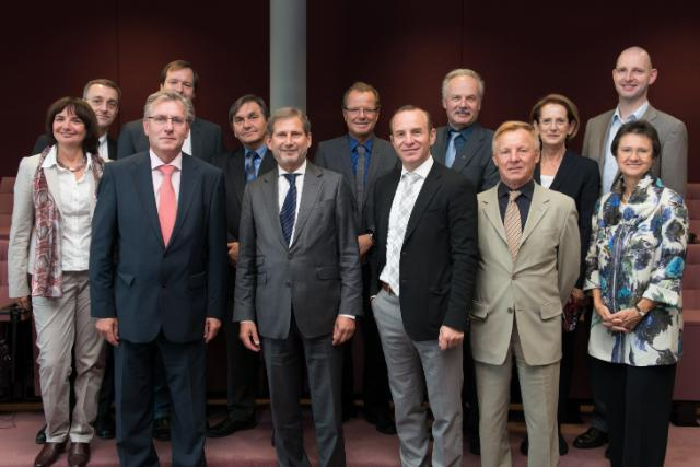 Visit of the Presidents of the State Education Authority of Upper Austria to the EC