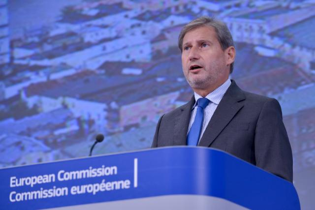 Press conference by Johannes Hahn, Member of the EC, on the EU Solidarity Fund to help Germany, Austria, the Czech Republic and Romania hit by flood and drought disasters