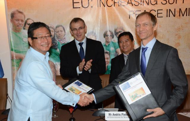 Visit by Andris Piebalgs, Member of the EC, to the Philippines