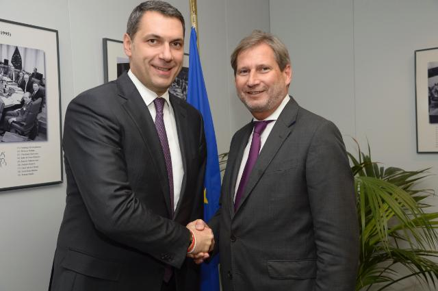 Visit of János Lázár, Hungarian Minister of State to the Office of the Prime Minister, to the EC