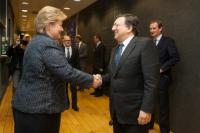 Visit of Erna Solberg, Norwegian Prime Minister, to the EC