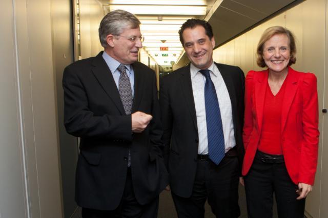 Visit of Spyridon-Adonis Georgiadis, Greek Minister for Health, to the EC