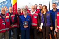 Participation of Kristalina Georgieva, Member of the EC, at the plenary session of the EP on the Civil Protection Mechanism, and meeting with the B-Fast, Belgian First Aid and Support Team