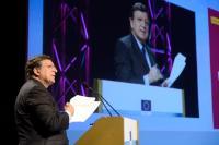 Participation de José Manuel Barroso, président de la CE, et Máire Geoghegan-Quinn, membre de la CE, à la conférence européenne sur l'innovation 2014