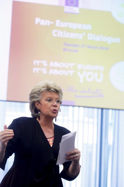 Dialogue paneuropéen avec les citoyens à Bruxelles