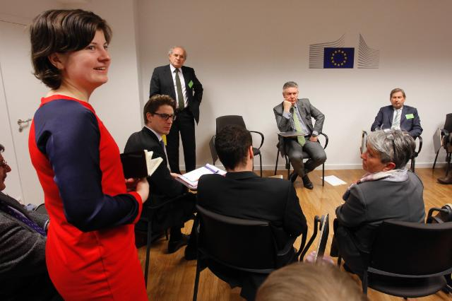Pan-European Citizens' Dialogue in Brussels