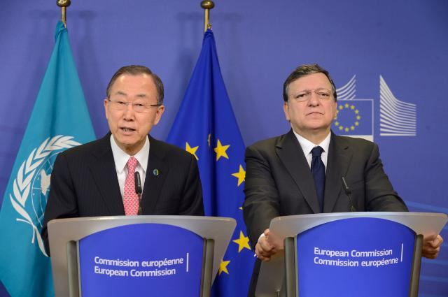 Visit of Ban Ki-moon, Secretary General of the United Nations, to the EC