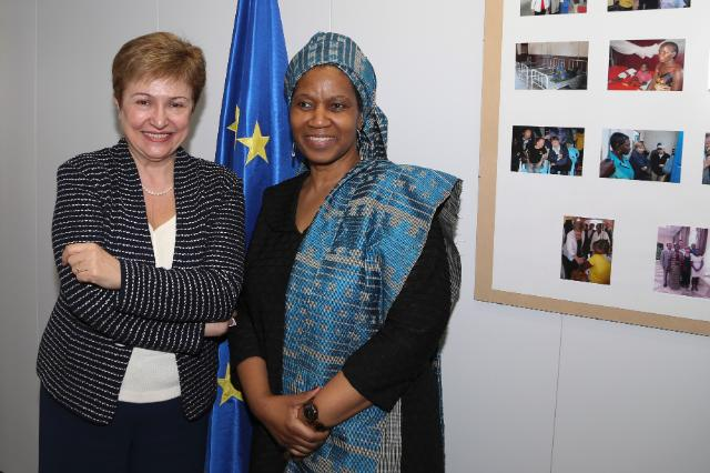 Visit of Phumzile Mlambo-Ngcuka, Under-Secretary-General of the United Nations and Executive Director of UN Women, to the EC