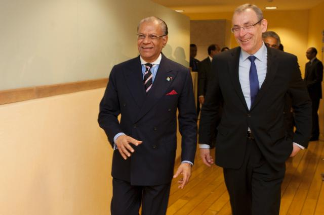 Visit of Navinchandra Ramgoolam, Mauritian Prime Minister, to the EC