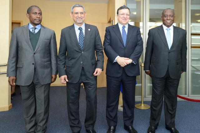 Visit of Representatives from three Portuguese-speaking African countries to the EC