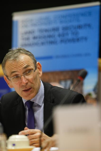 Participation of Andris Piebalgs, Member of the EC, at the high-level conference on property rights