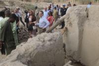 Visite d'Andris Piebalgs, membre de la CE, au Mali