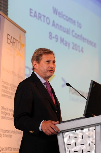 Participation of Johannes Hahn, Member of the EC, at the annual conference of the EARTO 2014, in Vienna