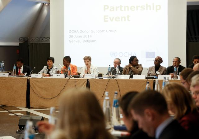 Participation of Kristalina Georgieva, Member of the EC, at the OCHA Donor Support Group meeting
