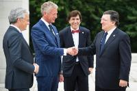 Participation of José Manuel Barroso, President of the EC, in the commemorative ceremony of the 100th anniversary of the First World War