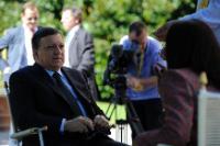 "Illustration of ""Visit of José Manuel Barroso, President of the EC, to Italy"""