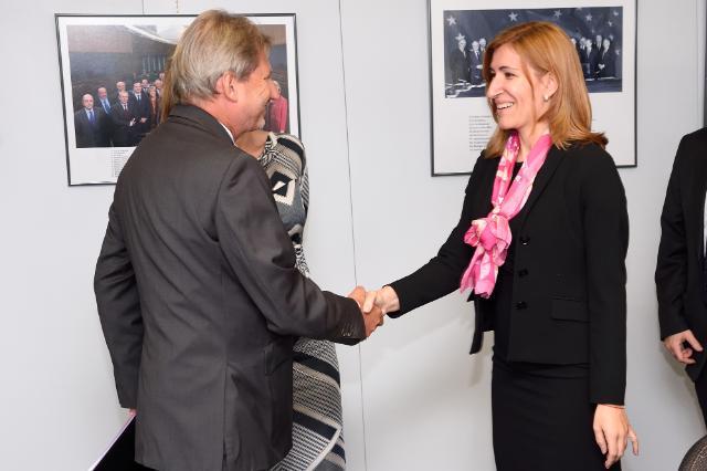 Visit of Ekaterina Zaharieva, Bulgarian Deputy Prime Minister and Minister in the Caretaker Government, and Nikolina Angelkova, Bulgarian Minister in the Caretaker Government, to the EC