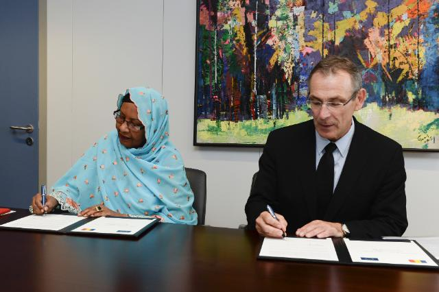 Signing ceremony of the National Indicative Programme for Chad under the 11th EDF for the period 2014-2020