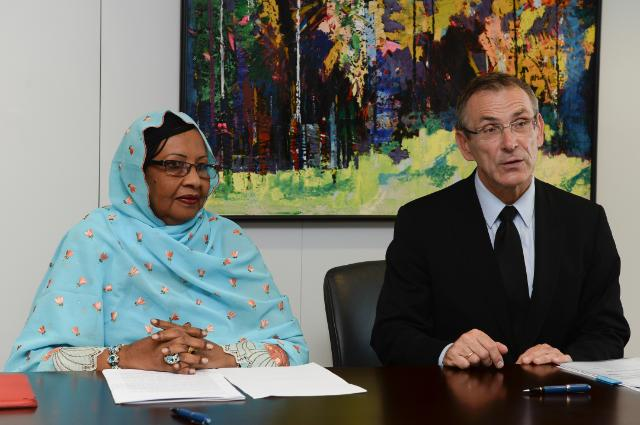 Cérémonie de signature du Programme indicatif national pour le Tchad dans le cadre du 11e FED pour la période 2014-2020