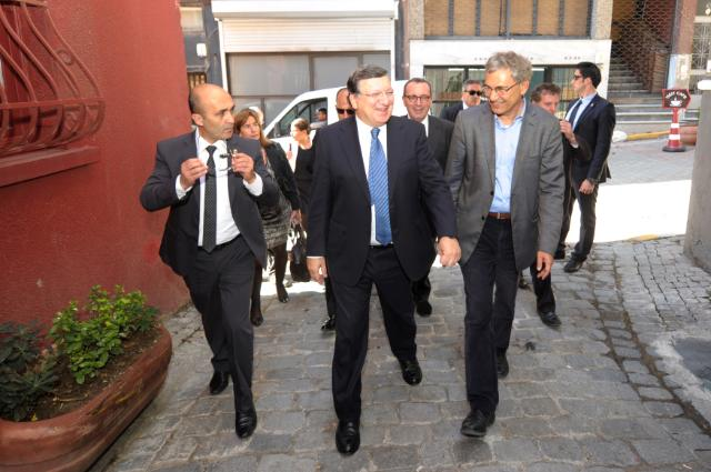 Visit of José Manuel Barroso, President of the EC, to Turkey