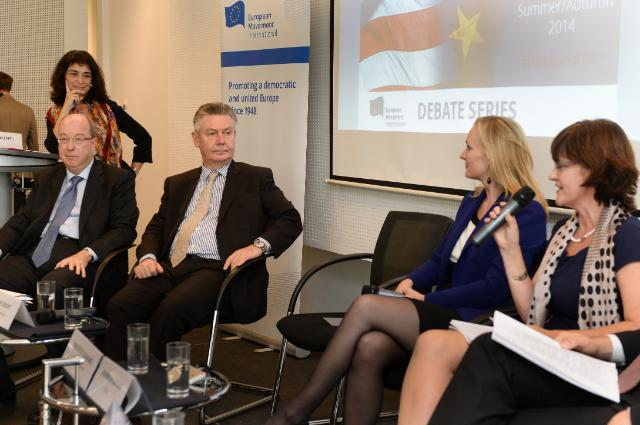 Participation of Karel De Gucht, Member of the EC, at the 2nd cycle of the EMI TTIP debates 'Stepping up a Gear'