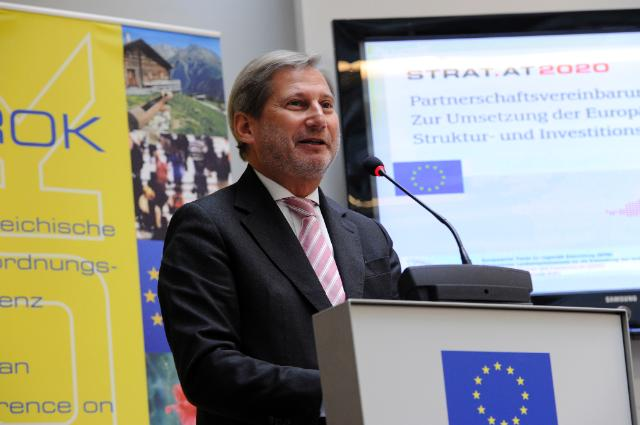 Visit by Johannes Hahn, Member of the EC, to Austria