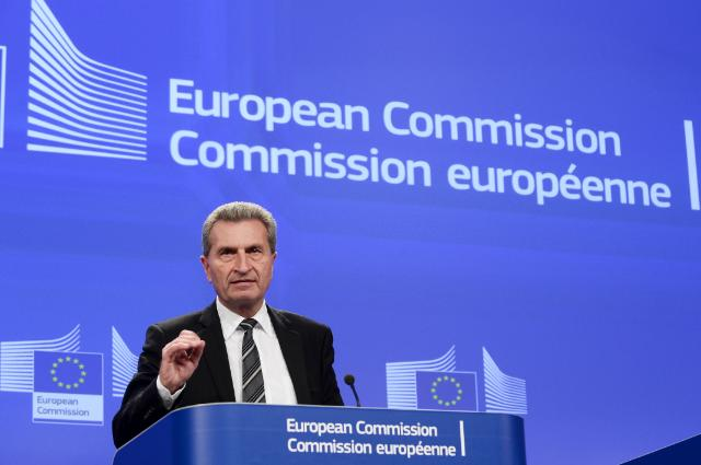 Briefing by Günther Oettinger, Aleksandr Novak and Yuriy Prodan after the EU-Russia-Ukraine trilateral meeting on gas