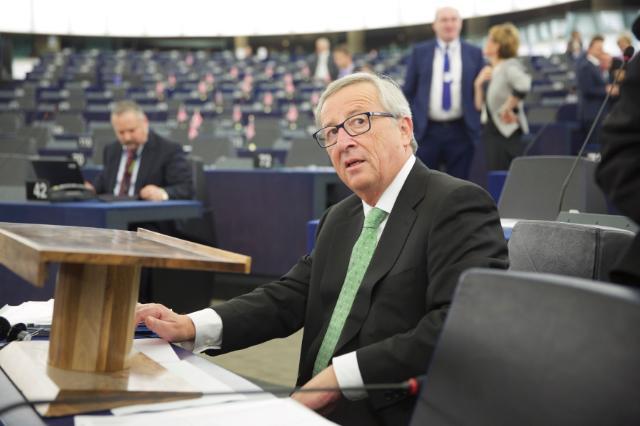 Participation de Jean-Claude Juncker, président élu de la CE, à la session plénière du PE